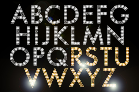 marquee alphabet collection