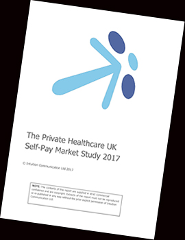 PRIVATE HEALTHCARE UK SELF-PAY MARKET STUDY 2017 COVER
