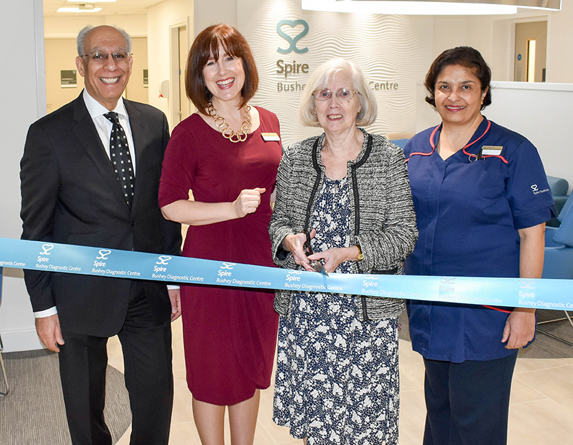 Spire Bushey Diagnostic Centre ribbon cutting  (4 of 25)