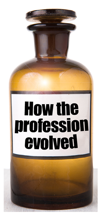 How the profession evolved