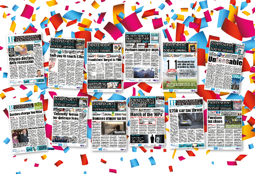 100 front pages
