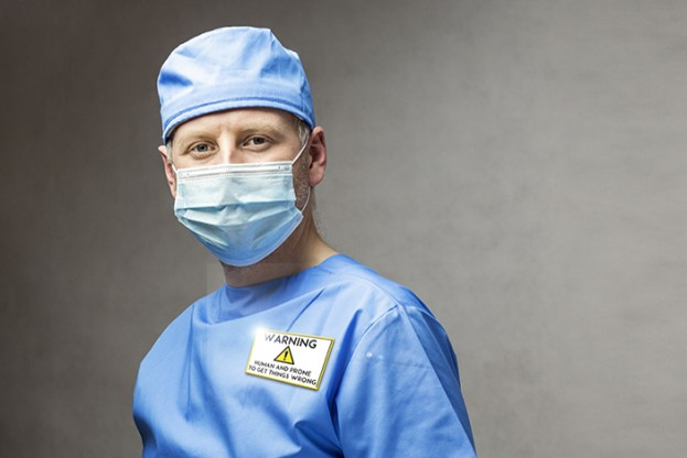 Surgeon doctor in medical clothes