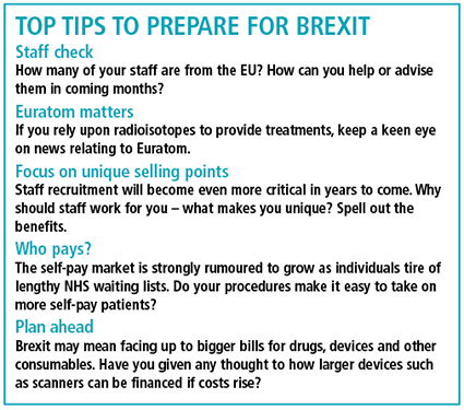 Top tips for Brexit