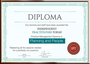 Diploma or Certificate Premium Design Template in Raster