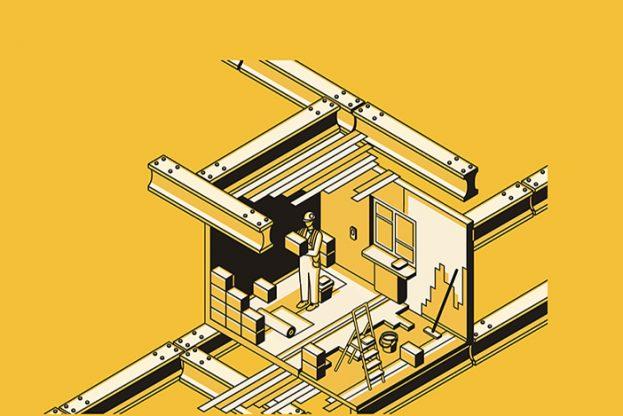 Building site slider
